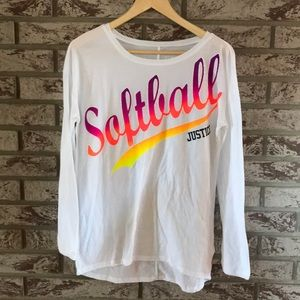 ⚾️Girls Justice Softball shirt⚾️